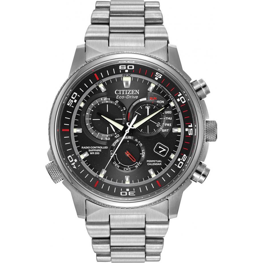Eco-Drive Nighthawk AT WR200 AT4110-55E Citizen hodinky - doprava zdarma  Stínová stanice 12539fbca37