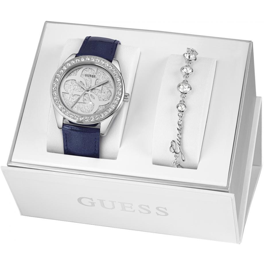 dffce4377 UBS84301-L hodinky a náramek dárkové sady Guess Watch - doprava zdarma  Stínová stanice